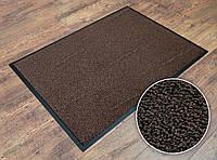 Грязезащитный ковер Париж коричневый 90х120 см