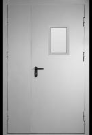 Двери металлические противопожарные двухпольные EI-30