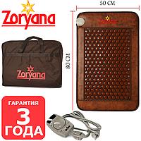 Турмалиновый Коврик Zoryana Classic Натуральный турмалин, прогревающий коврик турманиевый