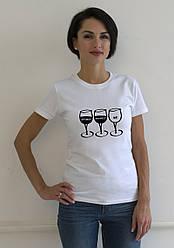 """Жіноча футболка з принтом """"Tea shirt"""""""