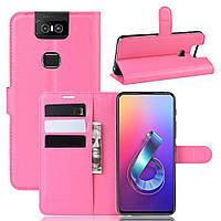 Чохол-книжка Litchie Wallet для Asus Zenfone 6 ZS630KL Rose