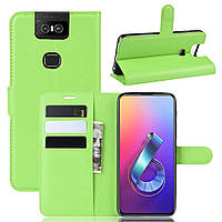 Чохол-книжка Litchie Wallet для Asus Zenfone 6 ZS630KL Green