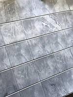 Декоративная настенная панель ПВХ Серый мрамор