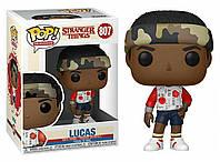 Фигурка Funko Pop Фанко Поп Очень странные дела Лукас Stranger Things Lucas 10 см - 222994