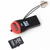 Картридер MicroSD USB 2.0