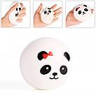 Игрушка сквиш Панда большая | Мягкая игрушка-антистресс | Squishy Панда девочка, фото 3