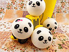 Игрушка сквиш Панда большая | Мягкая игрушка-антистресс | Squishy Панда девочка, фото 7
