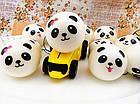 Игрушка сквиш Панда большая | Мягкая игрушка-антистресс | Squishy Панда девочка, фото 8