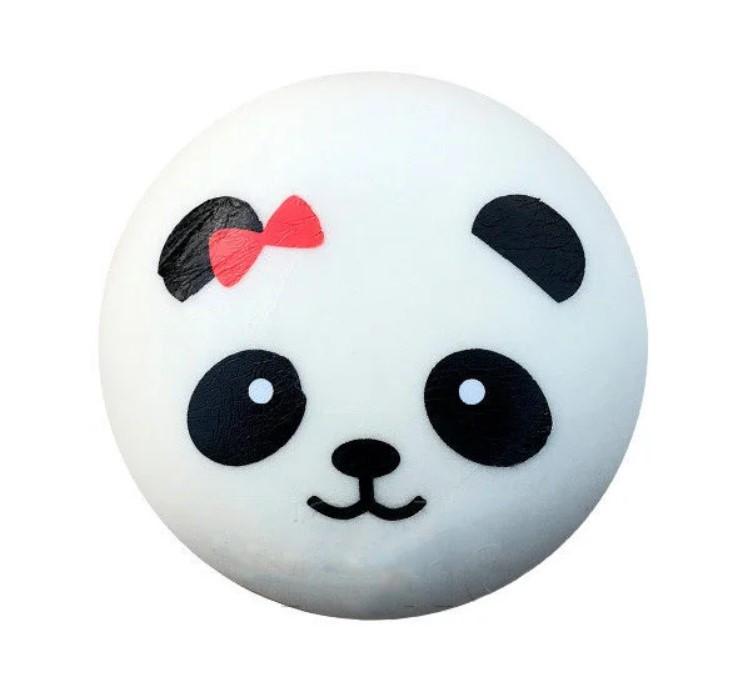 Игрушка сквиш Панда большая | Мягкая игрушка-антистресс | Squishy Панда девочка