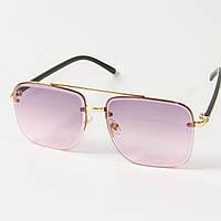 Женские квадратные солнцезащитные очки  (арт. 6278/2) розовые, фото 1