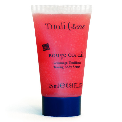 Гоммаж для тіла тонізуючий Червоний Корал 200мл Thalisens Gommage Tonifiant Rouge Coral