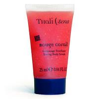 Гоммаж для тела тонизирующий Красный Коралл 200мл Thalisens Gommage Tonifiant Rouge Coral