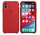 Чехол (Silicone Case) для iPhone X / iPhone XS Red, фото 2