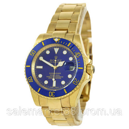 Rolex Submariner AAA Date Gold-Blue