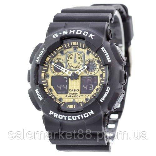Casio G-Shock GA-100 Black-Gold