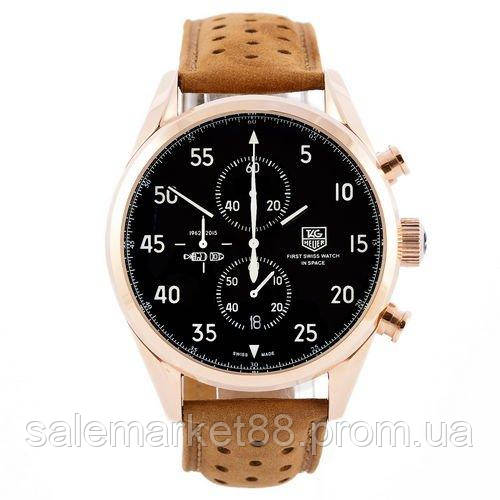 TAG Heuer Carrera 1887 SpaceX Chronograph Gold-Black-White