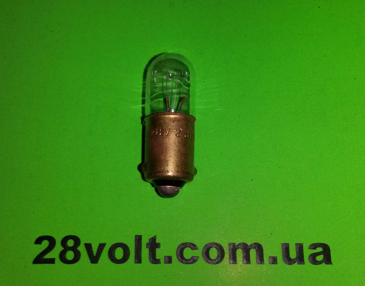Лампа СМ 28-4,8 B9s