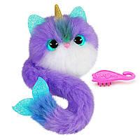 Інтерактивна кішка Помсі Pomsies Plush Interactive Toy  Skyrocket Pomsies Bubbles оригінал, фото 1