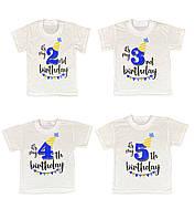 Детская футболка Birthday, фото 1