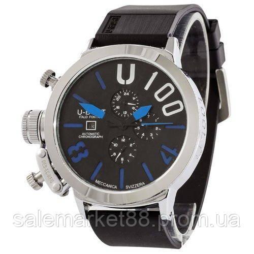 U-boat Italo Fontana Silver-Black-Blue