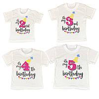 Детская футболка Birthday