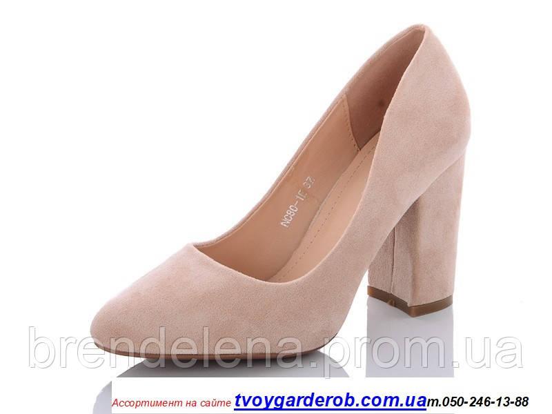 Стильные туфли женские  HOROSO каблук 9см (р.36-40) 39
