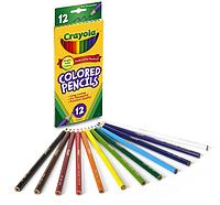 Карандаши цветные Crayola 12