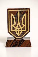 Герб на подставке (обсидиан), фото 1