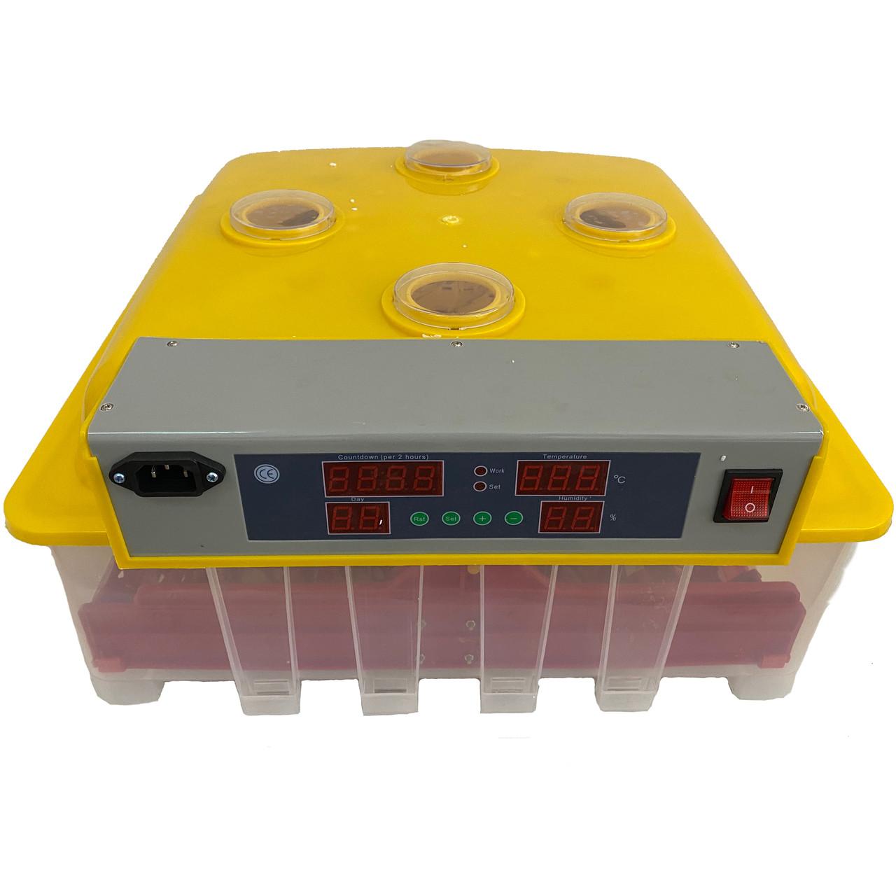 Инкубатор с автоматическим поворотом яиц MS-36/144 (інкубатор з автоматичним поворотом яєць)