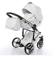 Универсальная коляска 2 в 1 TAKO Junama Diamond Individual 05 Белая с серебристой рамой 24-JD-IN-, КОД: 1090639
