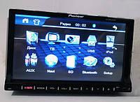 Автомагнитола 2Din PIONEER PI-803 GPS + камера заднего вида +ТВ антенна.