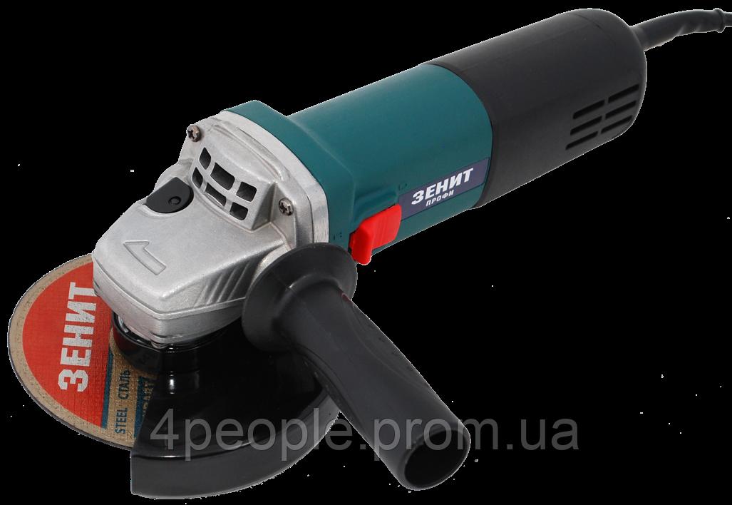 Угловая шлифовальная машина Зенит ЗУШ-125/1050 МС профи