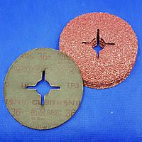Фибровые шлифовальные круги 3M 55073 - 982С CUBITRON II, 125Х22мм, P36+