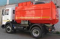 Сміттєвоз з боковим завантаженням на шасі МАЗ 5440