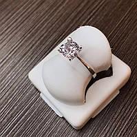Серебряное кольцо 925 пробы с фианитом ,размер 16,5.
