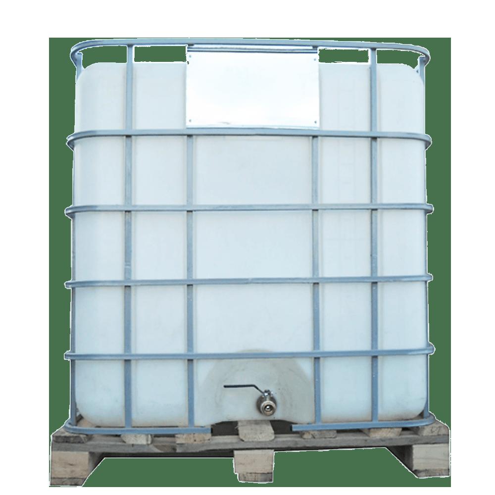 Ємність квадратна в решітці з металевим краном 1000 л Еврокуб