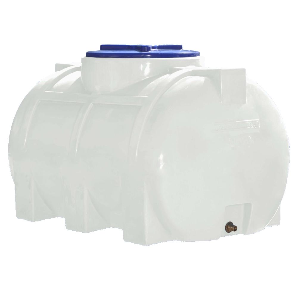 Емкость 250 литров горизонтальная