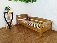 """Кровать детская из массива дерева от производителя """"Марта"""" (светлый дуб)"""