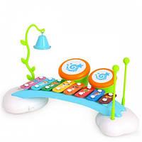 Ксилофон детский 909 Разноцветный 2-909-23359, КОД: 974559