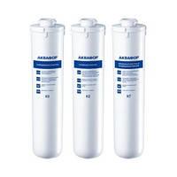 Комплект сменных модулей, картриджей Аквафор Кристалл К3 К2 К7 (К1-03-02-07). Фильтр для воды