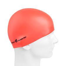 Шапочка для плавания MadWave NEON M053502 оранжевый