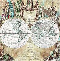 """Фотообои """"Карта мира"""""""