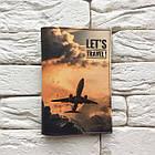 Обложка на паспорт Самолет в небе, фото 2