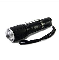 Тактический фонарь POLICE BL-1860-T6 50000W, фонарь туристический ручной, фонарик ручной Bailong Police, фото 1