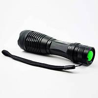 Фонарик ручной BL 1837 c T6 диодом, фонарик аккумуляторный, фонарик ручной аккумуляторный водонепроницаемый
