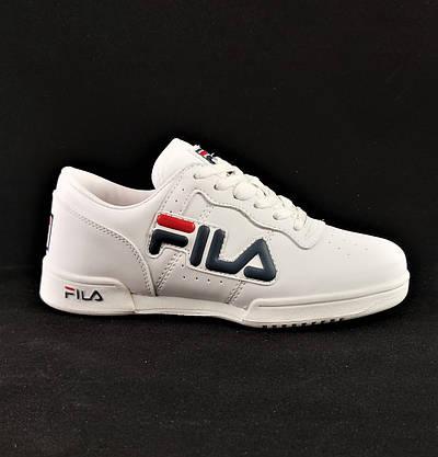 Кроссовки Fila Белые Фила (размеры: 37,38,39,40) Видео Обзор, фото 2