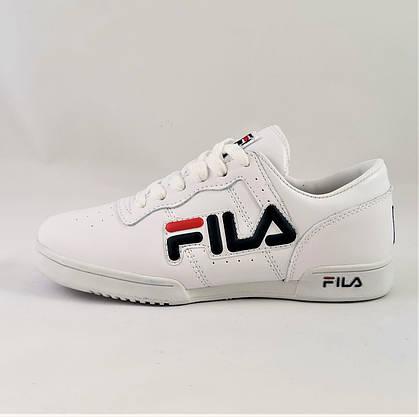 Кроссовки Fila Белые Фила (размеры: 37,38,39,40) Видео Обзор, фото 3