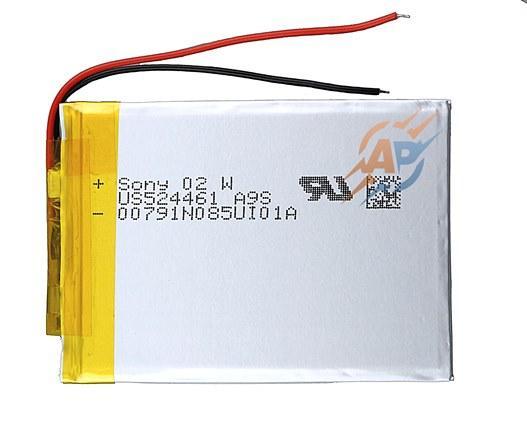 Аккумулятор 1600mAh 3.7v 454261 Sony для навигаторов, ридеров, электронных книг, планшетов