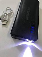 PowerBank SAMSUNG 60000mAh МОЩНЫЙ +LED фонарик, 3 USB, повербанк универсальная батарея, внешний аккумулятор
