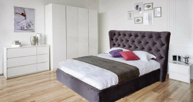 Кровать двуспальная ПурПур (Embawood) в интерьере (2)